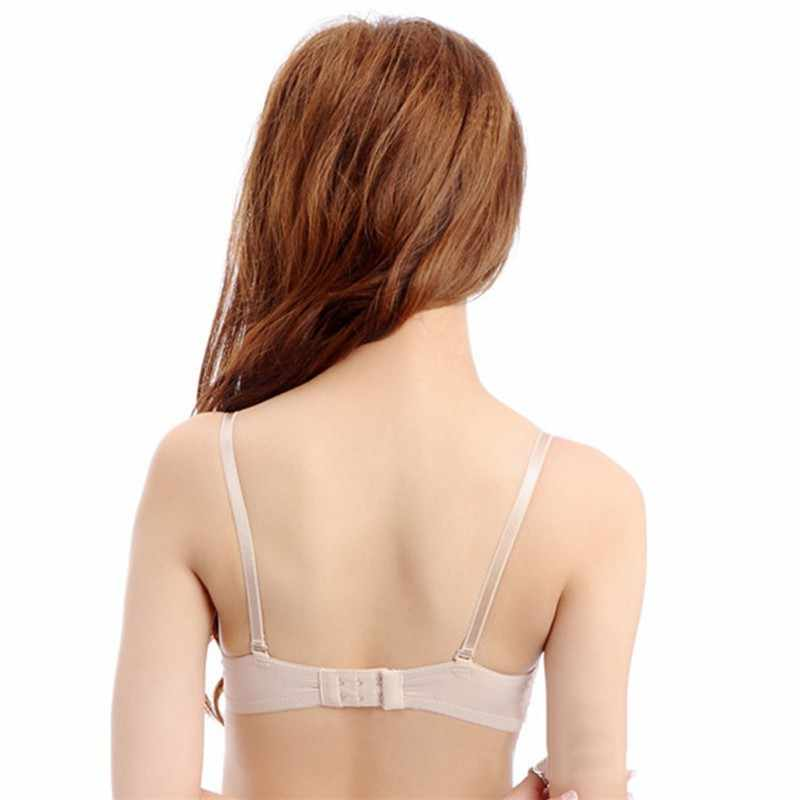 ef819fc3a8f78 Sexy Thin Women's Push Up Bra Gather Adjustable Bras Padded Brassiere  Lingerie Underwear 70 75 80B Cup