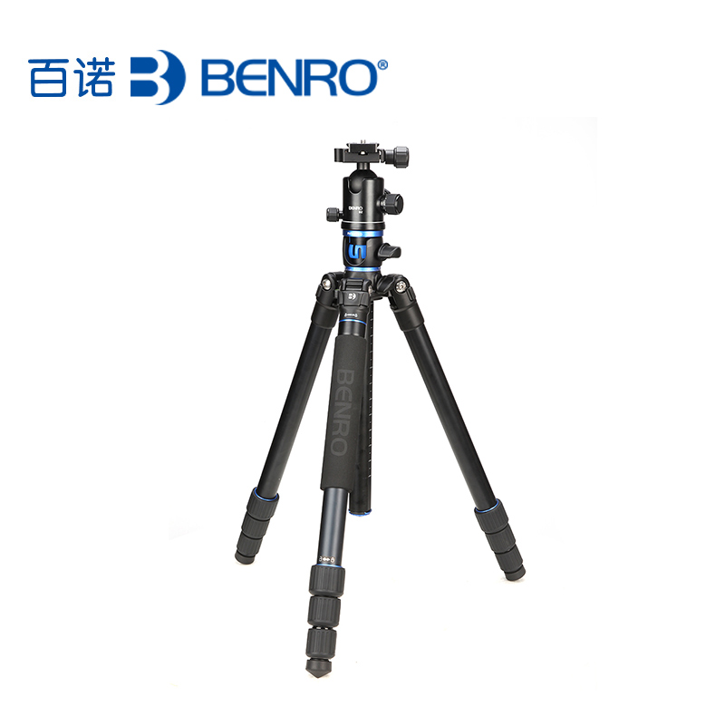 BENRO GA268TB2 Portable Aluminium Tripod for Professional Camcorder/Video Camera/DSLR Tripod Stand штатив benro t 800ex