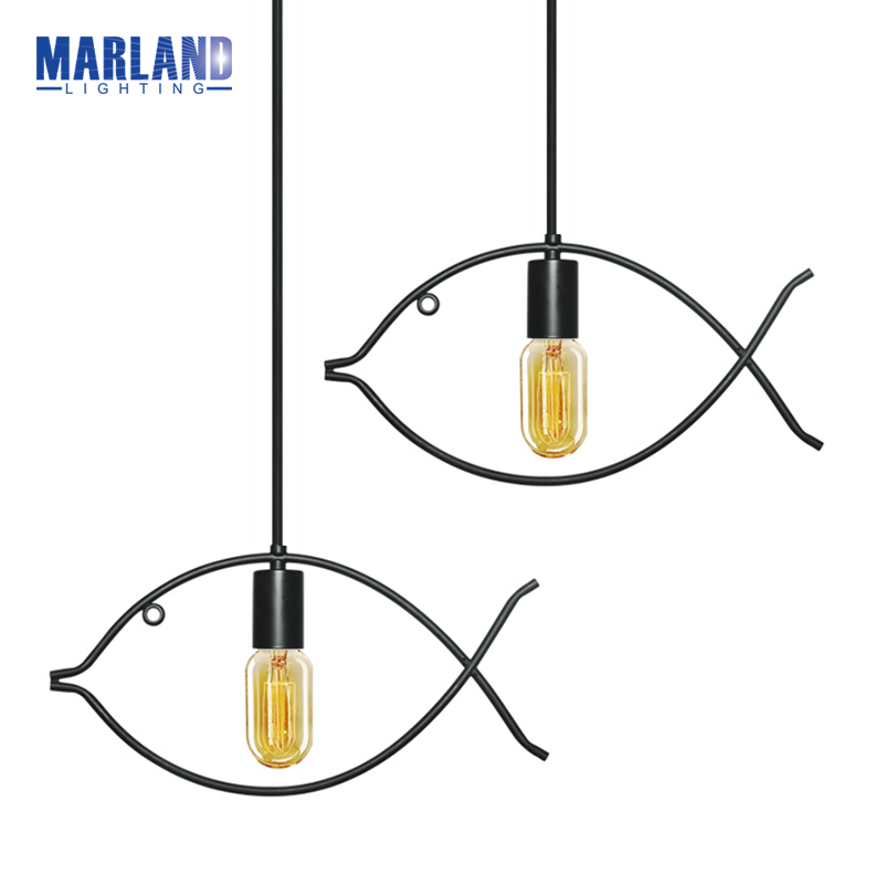 Modern Design LED Home Lighting Fish Shaped Dinning Hanging Lamps Creative LED Pendant Lamps For Dinning Room Bedroom(D5099) ceiing mounted modern hanging lamps kids bedroom colorful balloons acrylic pendant lighting for restaurants bar
