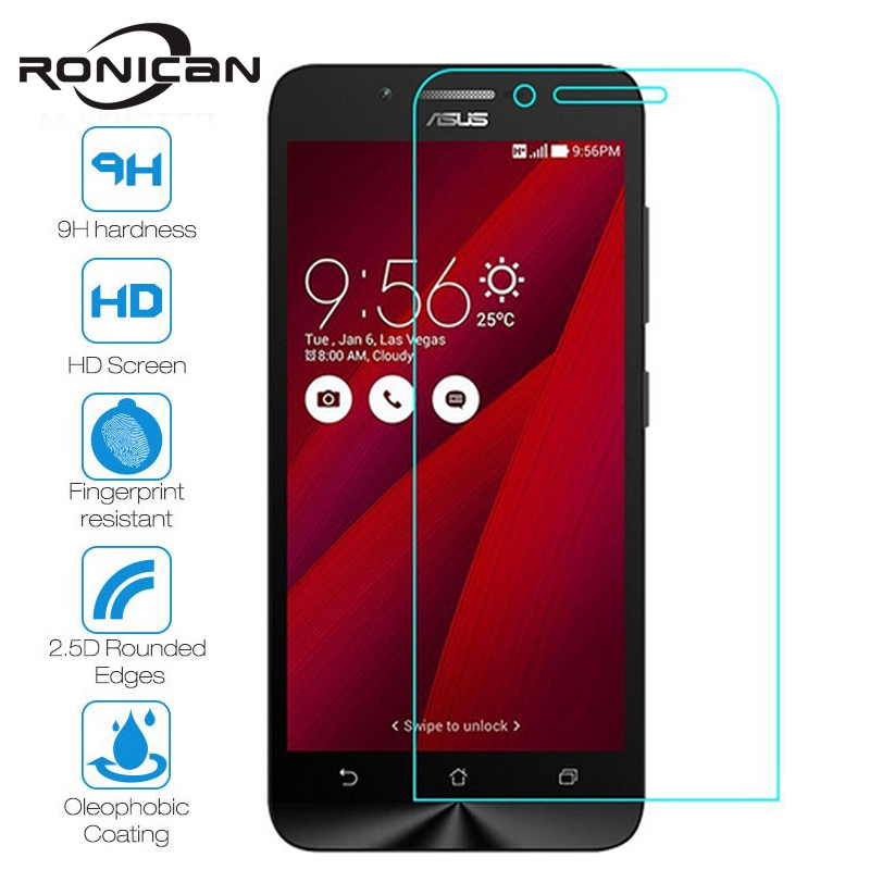 RONICAN Premium Tempered Glass For ASUS Zenfone GO ZC500TG On Z00VD ZC 500TG Z00 VD 5.0 Inch Case Screen Protector Capa Fundas