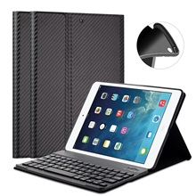 GOOJODOQ Case For iPad 2017 9.7 inch/Air 2/iPad Air 1 Keyboard + PU Leather Smart Cover Detachable Wireless Bluetooth Keyboard