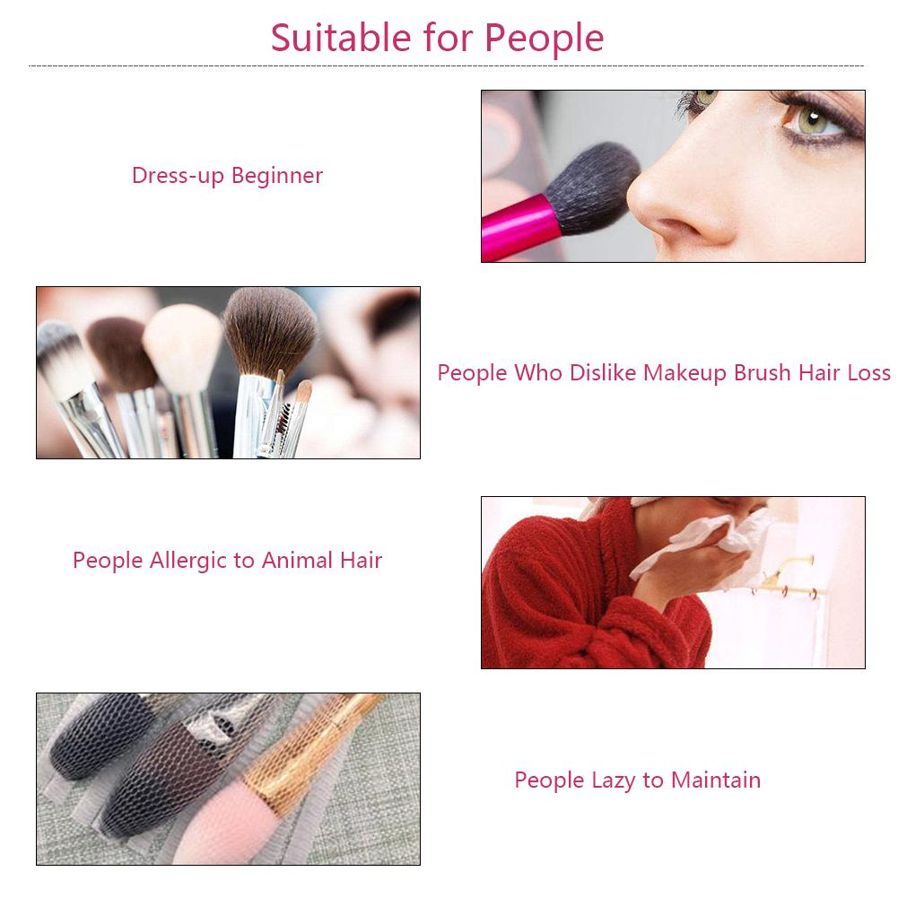 18pcs Makeup Brush Set Beauty Persian Fiber Beige High Quality Makeup Brush Set For Women Beauty Makeup Tools in Eye Shadow Applicator from Beauty Health