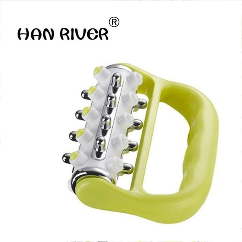 HANRIVER Handle Fat Press Press Roller Massager Body Lymphatic Massage Body Portable