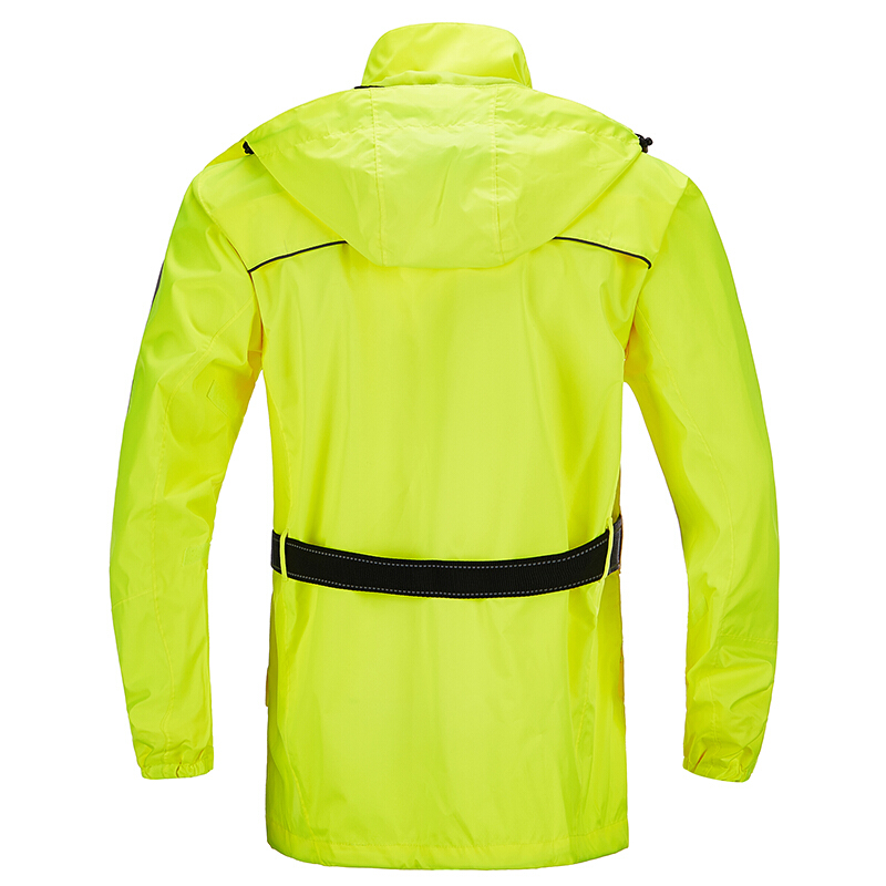 MOTOBOY 100% Nylon Professional Waterproof Cycling Jacket Pants Hood Motorcycle Gear Outdoor Sport Camping Rain-proofrain Suit 6