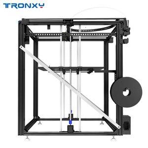 Image 5 - Mais novo maior impressora 3d tronxy X5SA 500 cama de calor grande impressão tamanho 500*500mm kits diy com tela de toque sensor de nivelamento automático