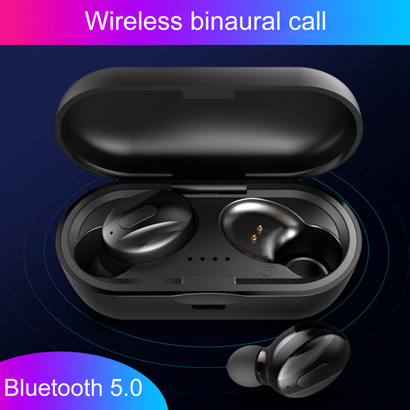 TWS XG 13 Mini Dual V5.0 Wireless Earphones Bluetooth Earphones 3D Stereo Sound Earbuds with Dual Microphone With Charging box-in Bluetooth Earphones & Headphones from Consumer Electronics