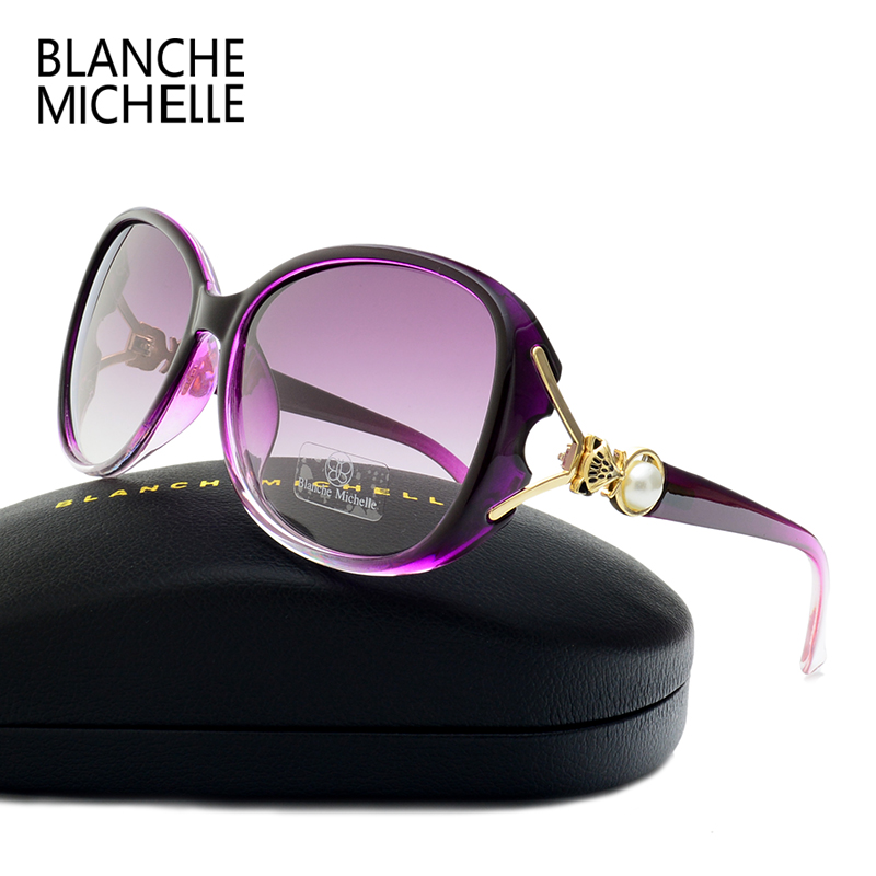 BLANCHE MICHELLE 2018 High Quality Gradient Lenses Polarizeds
