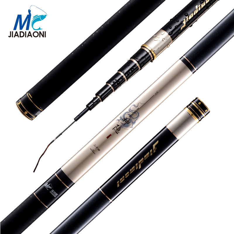 JIADIAONI Carbon Carp Fishing Rod China TaiWan Fishing Pole Telescopic Fly Fishing Rod Fishing Tackle 3.6M 4.5M 5.4M 6.3M 7.2M coffee grinders ground bean grinder electric coffee grinding machine household small stainless steel