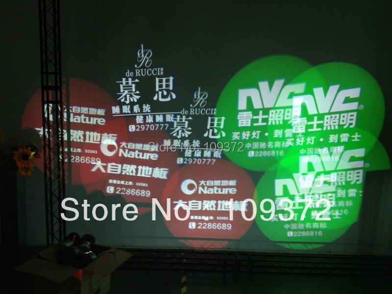 High Bright China 2016 New 20W LED Power Custom Lighted Signs Gobo Projectors Lamp for Sale Image Larger Type