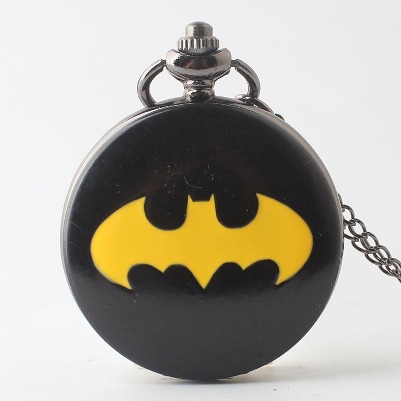 Quartz-Antique-Batman-Pocket-Watch-For-Men-And-Women-Necklace-Free-Chain-Gifts-Analog-Watches-Gifts