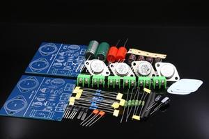 Image 1 - Simples classe a jlh 1969 kit amplificador de potência de dois canais st2n3055 placa amplificador kit diy