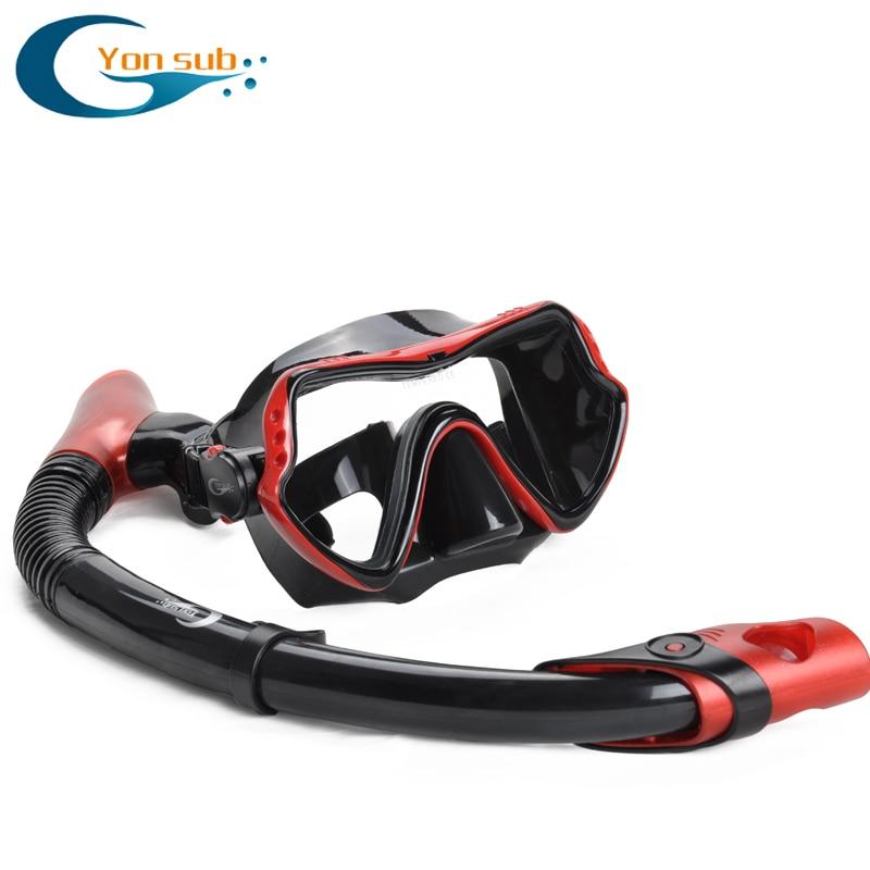 Máscara de buceo profesional de silicona para adultos Buceo Buceo - Deportes acuáticos - foto 3