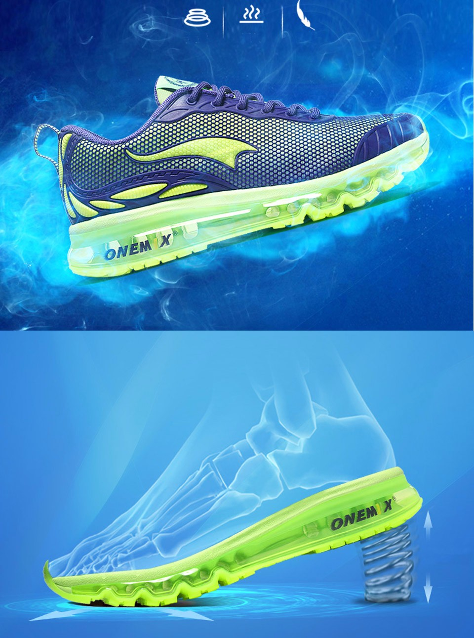 Brand Onemix Running Shoes Men Sneakers Women Sport Shoes Athletic Zapatillas Outdoor Breathable Original For Hombre Mujer 11 3