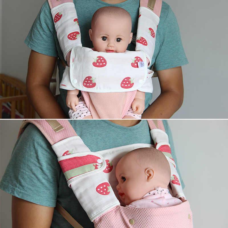 Hot Baby Newborn Carrier Straps Saliva Towel Infant Kids Cotton Sucking Bibs B