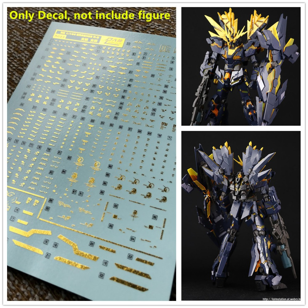 D L high quality Decal water paste For Bandai RG 1/144 MSN