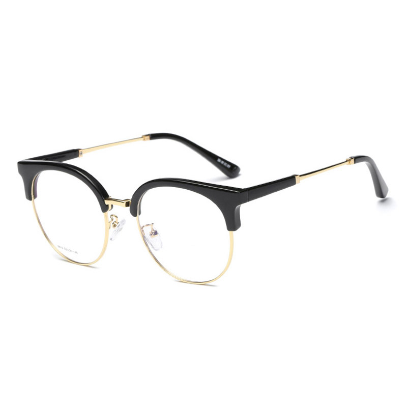 Handoer 6610 Optical Glasses Frame for Men and Women Alloy Eyewear Full Rim Alloy Spectacles Glasses Optical Prescription Frame-in Men's Eyewear Frames from Apparel Accessories