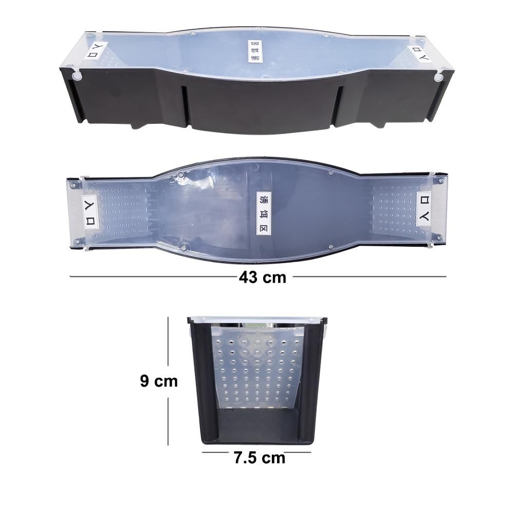 Continuous Mouse Rat Trap Reusable Double Door Plastic Humane No Kill Rodents Catcher Live Mice Indoor Outdoor Pest Control|Traps| |  - title=