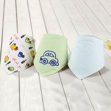 2018 Hot 3 Pcs/lot Baby Bibs Bandana Cute Bird Baberos Triangle Bibs&Burp Cloths Girl Boy Babadores Para Accessories(China)