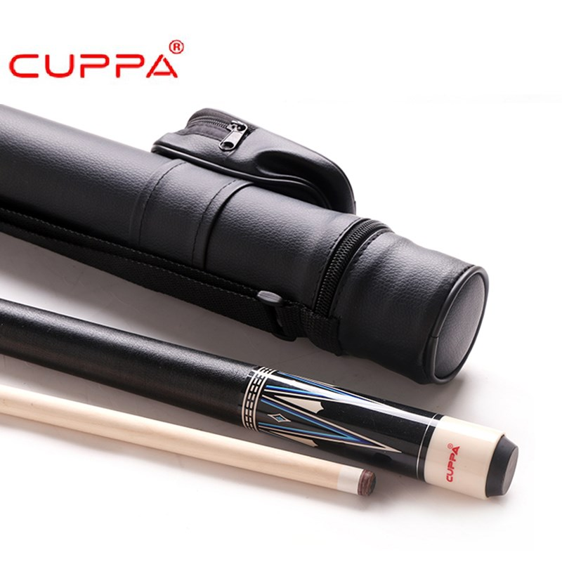 New Cuppa High Quality Billiard Pool Cue Stick 11.75mm/13mm Tip Pool Cues Case Set China 2018 free-shipping