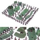 100PCS 4CM Army Men Kid Toy Soldiers Military Plastic Figurine Action Figure Green Red Toys Hobbies For Boys Children Gifts