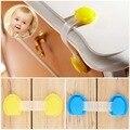 10 pcs Da Criança Do Bebê Trava de Segurança para Crianças Geladeira Porta Do Armário Da Gaveta Do Armário Bloqueio Fechaduras Do Gabinete de Plástico