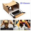 2016 Google Cardboard VR 3D Glasses Virtual Reality Smart Glasses For iphone Xiaomi VR Box With Adjustable Head Mount Belt Strap