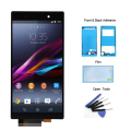 For Sony Xperia Z1 L39H L39 C6902 C6903 C6906 LCD Display Touch Screen with Digitizer + Adhesive + Film + Tools , Free shipping
