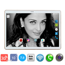2018 Newest DHL Free 10 inch Tablet PC 3G Octa Core 4GB RAM 64GB ROM Android 7.0 IPS GPS 5.0MP WCDMA 3G Tablet 10.1″ +Gifts