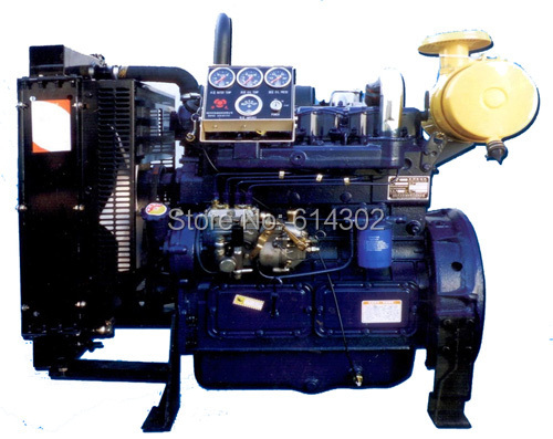 China weifang diesel engine 56kw Ricardo ZH4105ZD for 50kw generator set/genset diesel engine недорго, оригинальная цена