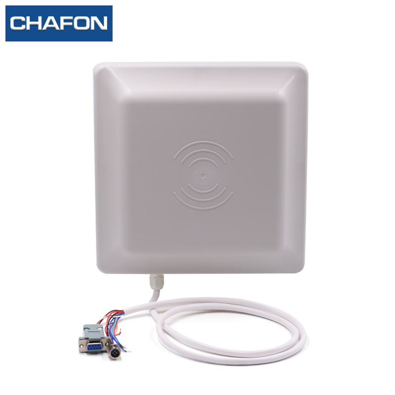Image 3 - CHAFON uhf rfid reader integrated antenna built in read range up to 3~6m for parking and warehouse management-in Control Card Readers from Security & Protection