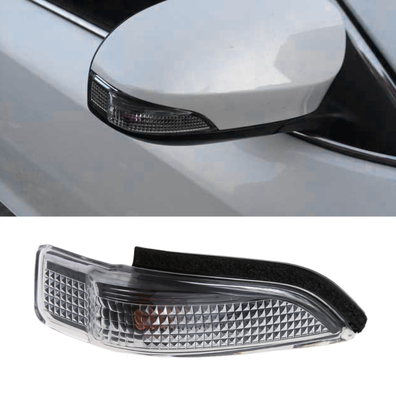 1 Pair Car 2Pin Side Mirror Indicator Turn Signal Light For Toyota Camry Avalon Corolla Car Lights Auto Lamp cafoucs led rearview side mirror turn signal lights mirror lamp for toyota prius reiz wish mark x crown avalon page 5