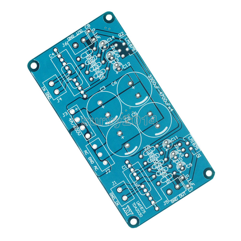 LM1875 LM1875T LM675 <font><b>TDA2030</b></font> TDA2030A Power <font><b>Amplifier</b></font> PCB image