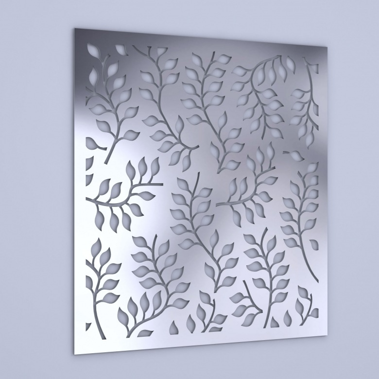 barato unids d grano de trigo patrn espejo de acrlico pegatinas de pared tv sof fondo de la pared decoracin espejo pegati