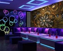 beibehang Cool atmospheric diamond classic silky papel de parede 3d wallpaper luxury flower bar KTV tooling bedroom background