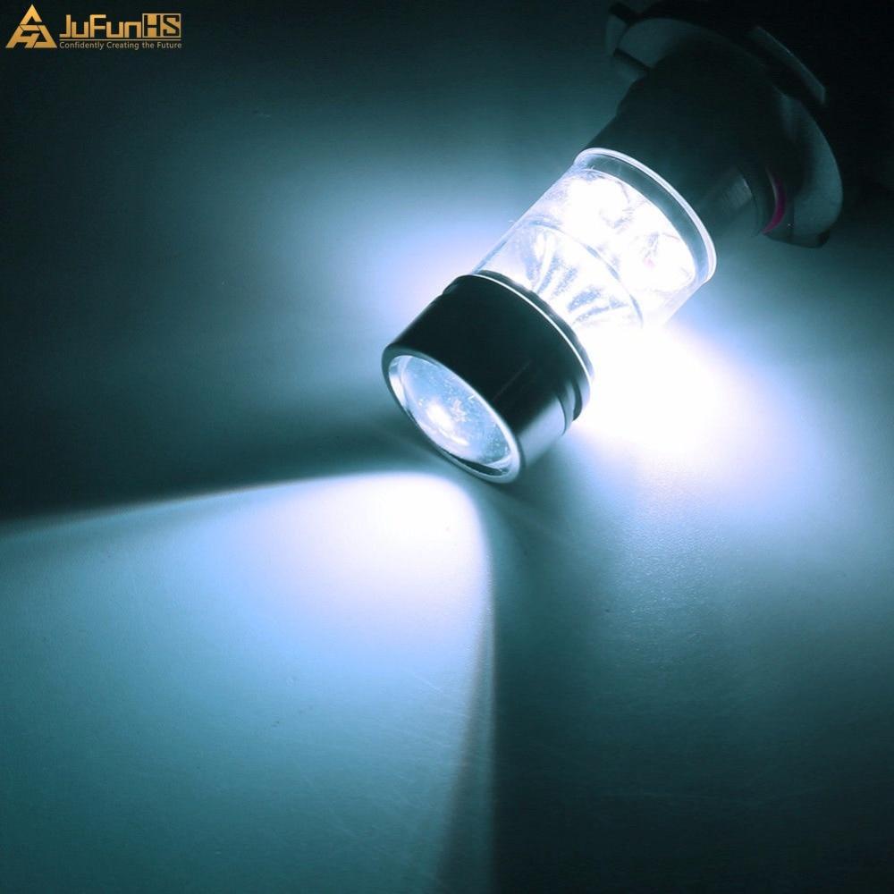 H3 100W meglenke, bela 6500K 12V avtomobilska LED žarnica, leče - Avtomobilske luči - Fotografija 6