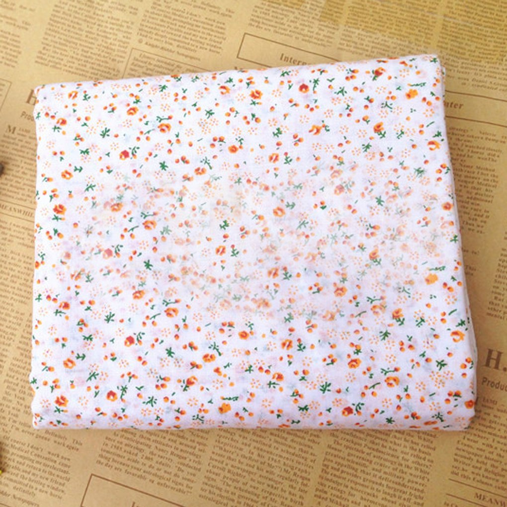 Brand New 7pcs Cotton Cloth Textile Craft Fabric Bundle Patchwork Fabric DIY Sewing Quilting Floral Pattern 50*5025x25cm