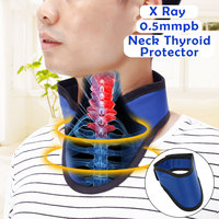 X Ray Protective Collar Lead Thyroid Collar CT Radiation Shield Lead Neck Cover radiological department accessories