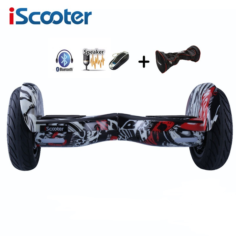 iScooter New hoverboard 10 inch two wheel smart self balancing scooter giroskuter electric skateboard with Bluetooth speakers iScooter New hoverboard 10 inch two wheel smart self balancing scooter giroskuter electric skateboard with Bluetooth speakers