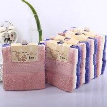 1pc/3pcs 33*33cm Square Cotton Terry Towels for children kid Face towels Bathroom Hand Toallas de Mano HT02