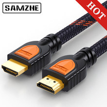 SAMZHE 4K/60Hz HDMI to HDMI 2.0 Cable HDR 3D Support for laptop TV LCD Laptop PS3 Projector Computer Cable(China)