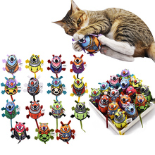 1pcs Cat Supplies Toys Interactive Inner Catnip And Bell Long Tail Mouse Playing For Cats Kitten Pet Product