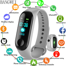 купить LIGE Smart Sport Bracelet IP67 Waterproof Wristband Blood Pressure Heart Rate Monitor Pedometer Smart Watch men For Android IOS дешево