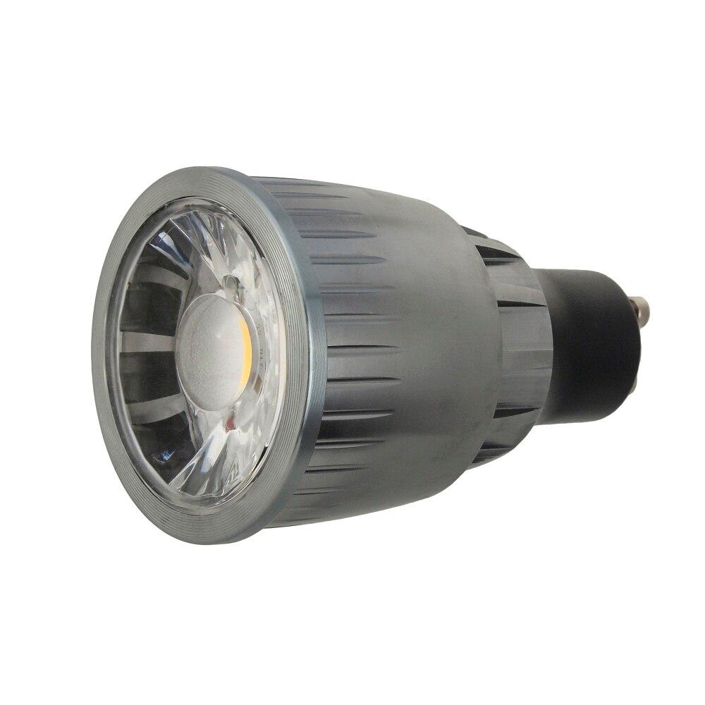 1pcs/lot GU10 COB dimmable 2700K 4500K Warm White 5W 7W 9W LED GU10 lamp bulb light Halogen lamp