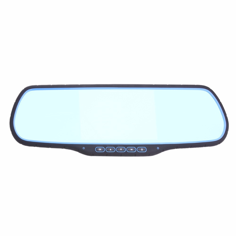 Android Dual Lens 5 Inch Full HD 1920*1080P Car DVR GPS Tracker Navigation Rearview Mirror Camera Car DVR Camera Touch Screen hot sale android 5 0 car dvr wireless 3g wcdma b1 2100 dual lens camera rearview mirror gps navigation 7 0 ips touch screen