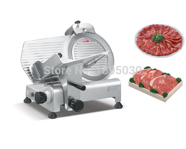 1pc Hot sell industrial meat slicers for hotel Electric Meat Slicer Mutton Slicing Machine 110/220V frozen meat slicer machine