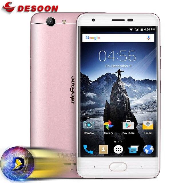 "Original Ulefone U008 PRO MTK6737 Quad Core Mobile Phone 5.0"" HD 2GB RAM 16GB ROM 8MP Full Metal Smartphone"