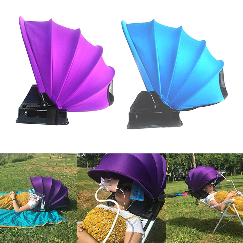 Portable Personal Face Shade Adjustable Beach Sun Protecting Tent Awnings MSD ING
