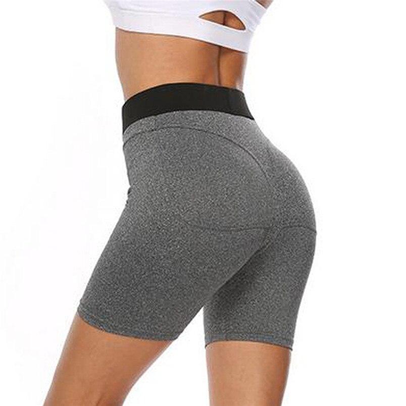 Sport Accessories Women Sexy Yoga Leggings High Waist Slim Solid Short Leggings Sport Fitness Short Sport 40MY24 (4)