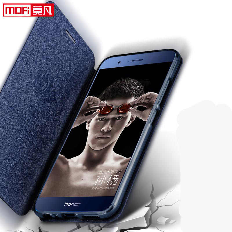 huawei honor 8 pro v9 phone case huawei v9 case cover leather flip book kickstand funda luxury glitter capa mofi huaewi v9 cover