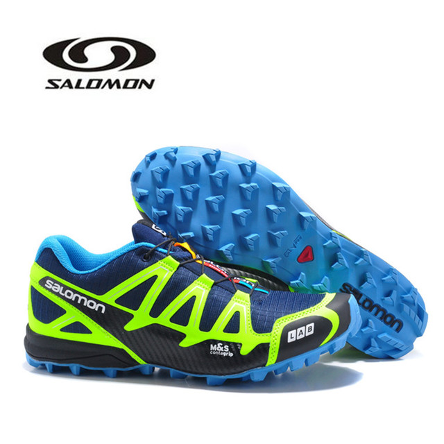 san francisco 15135 e52a0 Salomon S-LAB FELLCROSS 2 Men s Shoes Lightweight Sport Running Shoes  Breathable Outdoor Sneakers Free Shipping Eur 40-46